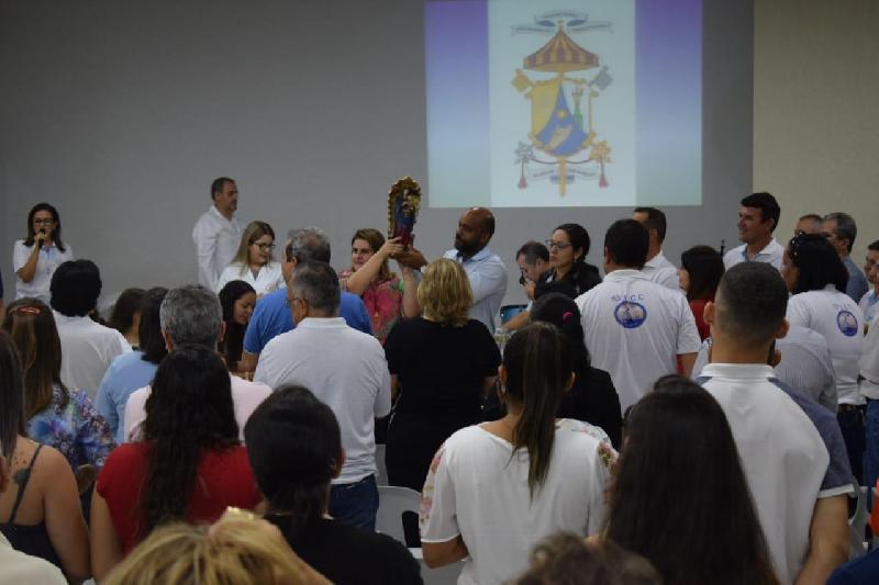 Missa de Retorno e Apresentação do Casal Coordenador do 55º ECC.