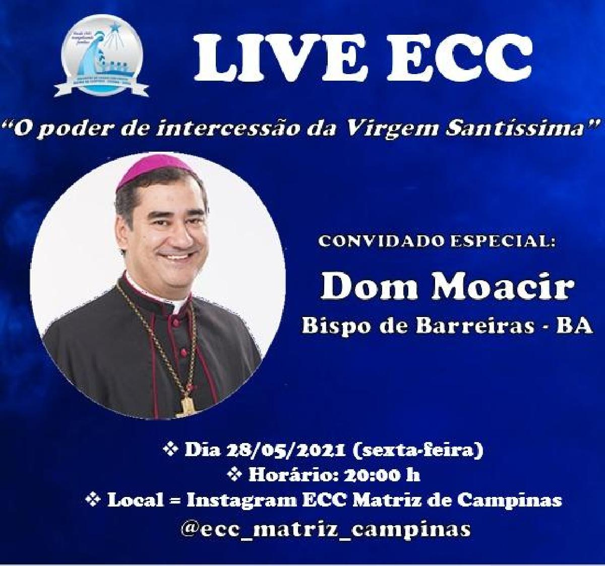 LIVE DOM MOACIR ARANTES